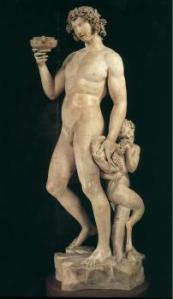 """Bacchus, Michelangelo Buonarroti, 1497, Private Collection 80"""""""